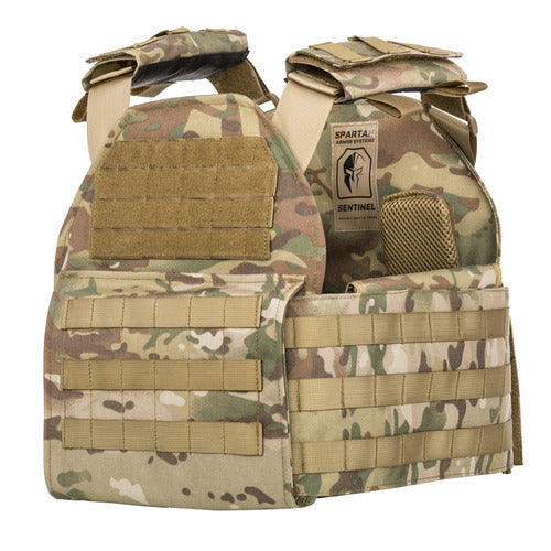 - Spartan AR500 Omega  Body Armor 10 x12 and Sentinel Plate Carrier Package