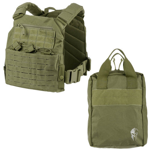 - Spartan Tactical Response Armor Carrier and Carry Case Kit
