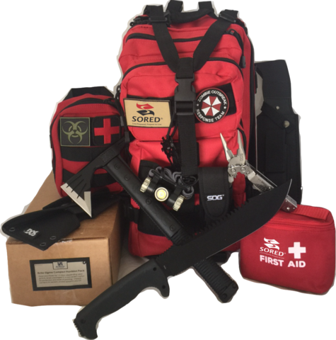 Sored Gear Zombie Outbreak Kit