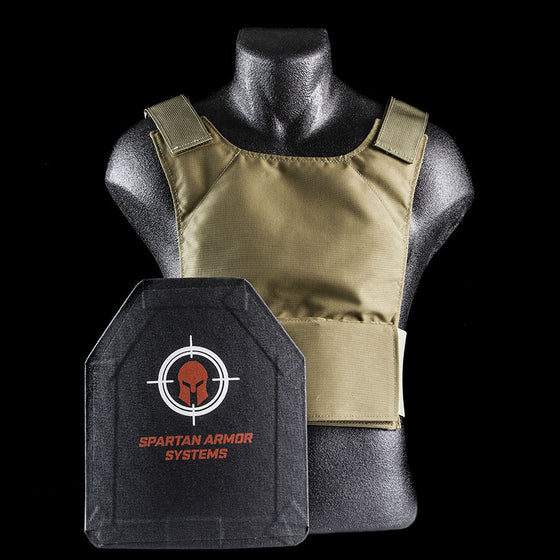 - Spartan Level IIIA Armor Systems ™ Concealment Plate Carrier and  Composite Armor Platform