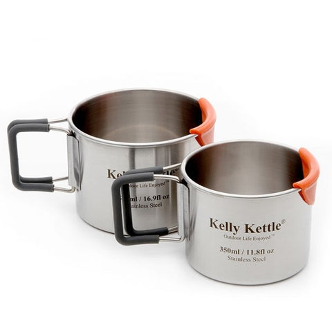 Kelly Kettle Camp Cups - Stainless