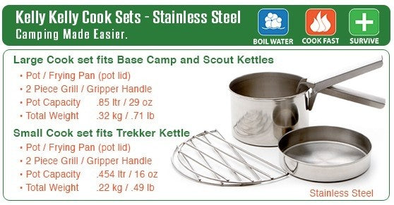 Kelly Kettle Small Cook Set (Small Kettle)