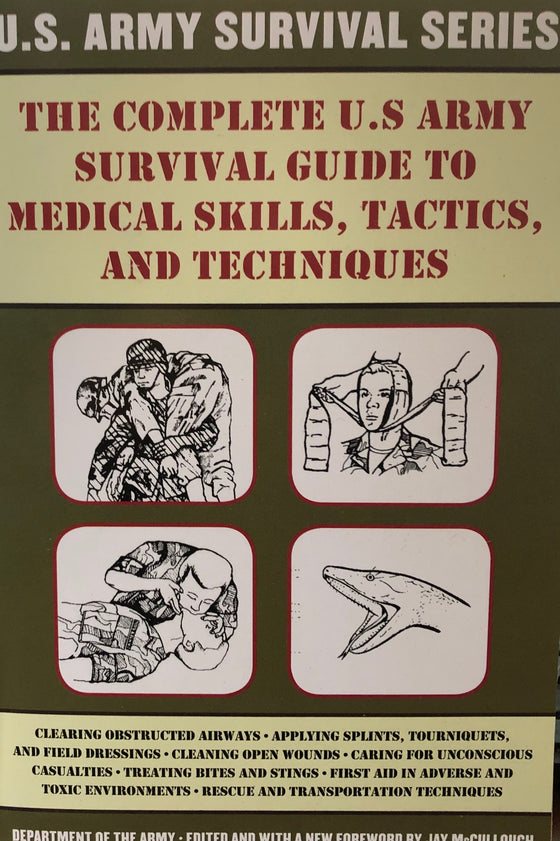 U.S. Army Survival Book Series