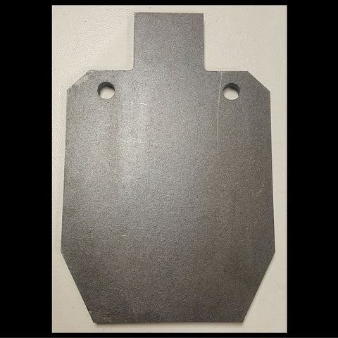 "Target IPSC Target 3/8"" AR-500 1/2 Scale"