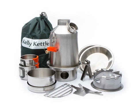 .Kelly Kettle Ultimate Stainless Scout Kit