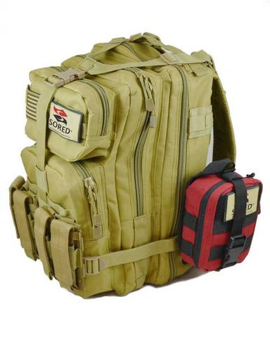 .Sored Gear Range Bag w/ Compact Trauma Kit