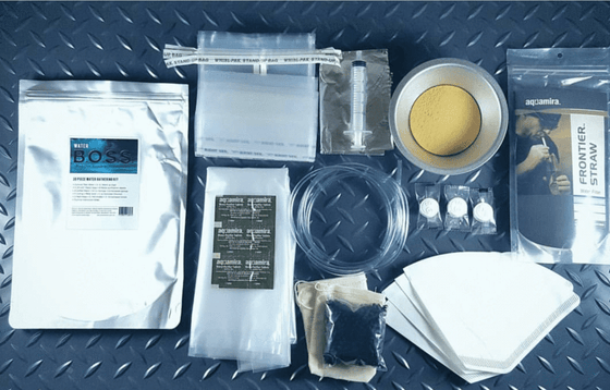 B.O.S.S. Water Gathering Kit