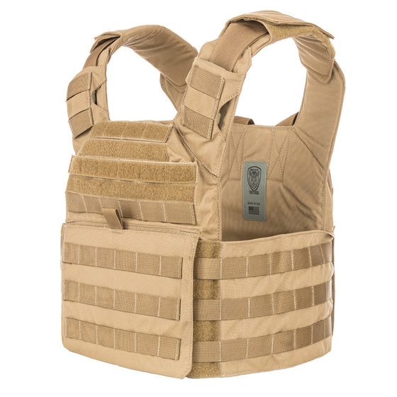 - Spartan AR500 Omega™ Body Armor and Wolf Bite Tactical® Helix Carrier Package