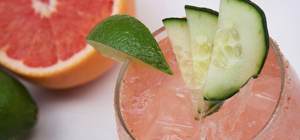 Ruby Red Cucumber Margarita