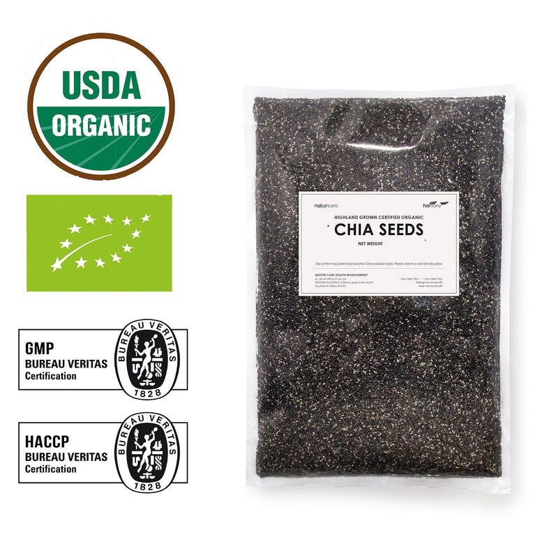 Highland Grown Certified Organic Chia Seeds