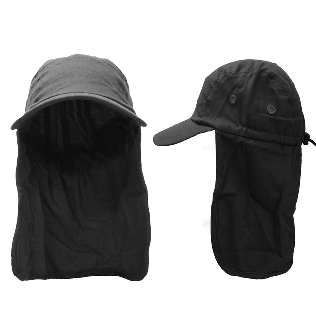 Men's Lifestyle Fishing Cap with Ear and Neck Flap Cover