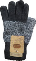Clear Creek Unisex Men's Women's Thermal Insulated Heavy Cable Knit Winter Gloves