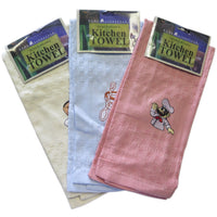 Home Lifestyle 6-Pack Kitchen Towels Strong & Absorbent Assorted