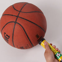 Portable Hand Sports Air Pump W/ Pin Needle Basketball Football Soccer 10 Inch