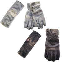 Polar Extreme Women's Soft Faux Fur Fleece Lined Headband & Touchscreen Sensitive Winter Gloves