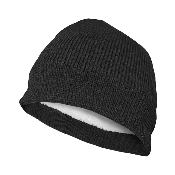 Polar Extreme Men's Beanie Knit Hat Winter Warm Cap Slouchy Solid Skull Hat Cuff