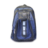 18 Inch Black Multi Purpose School Book Bag / Travel Carry On Backpack Bag
