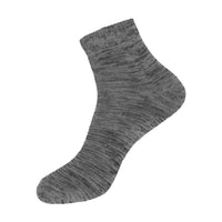 Women's Acid Wash Herringbone Quarter Length Casual Socks 12 PAIRS, SIZE 9-11