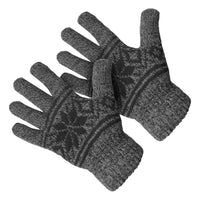 Men's Thermal Insulated Double Layer Knit Lined Gloves