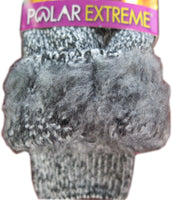 Polar Extreme Thermal Sock Extra Heavy Acrylic Winter Marled Socks 2-Packs Random Colors