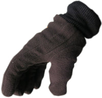 Magg Sports Unisex Autumn Winter Thermal Fleece Lined Elastic Cuff Glove