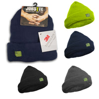 Jobsite Men's Ultra Thick Solid Cuffed Beanie with 3M Thinsulate Insulation