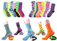 Women's Assorted Crew Socks
