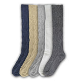 Women's Thick Winter Thermal Wool Blend Knee High Socks, Size 9-11
