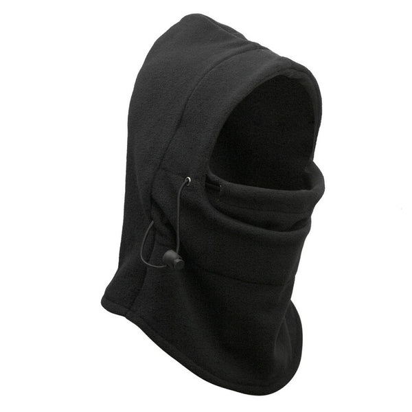 Men's & Women's Unisex Thermal Fleece Balaclava Hood Police Swat Ski Bike Wind Stopper Winter Lifestyle Hat Mask