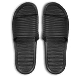 Men's Casual Rubber Slides Sandals Slipper Shoe Black Size 7-12 (S-XL)