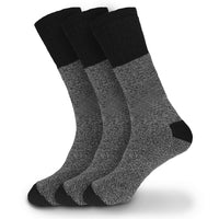 Men's Herringbone Warm Winter Thermal Wool Crew Boot Casual Socks