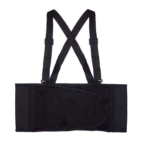 Heavy Lift Back Support Belt & Waist Brace Home W Adjustable Suspenders Accessories