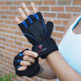 OnyxTact Workout Gloves with Wrist Wrap Support for Weightlifting, Training, CrossFit, Fitness.Anti-Slip Breathable Fabric  Men's Lifestyle