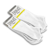 Everlast Ultimate Cushion Moisture-Wicking Ankle Men's Socks 6 Pairs Black