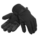 New Men's Lifestyle Thinsulate 3M Water Resistant Weatherproof Fully Fleeced Lined Ski Snow Outdoor Gloves