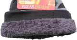Polar Extreme Insulated Faux Fur Lined Knit Camouflage Beanie Hat Skully