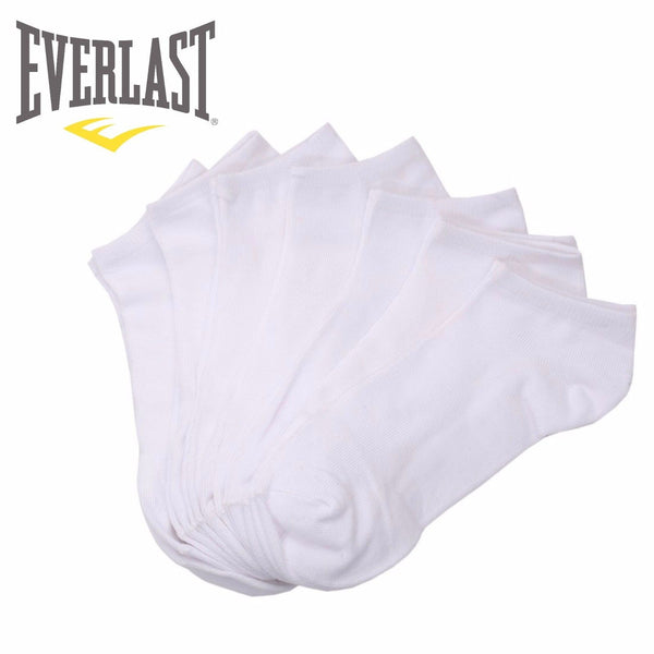 Everlast Kid's Assorted Low Cut Black White Ankle No-Show Athletic Casual Socks
