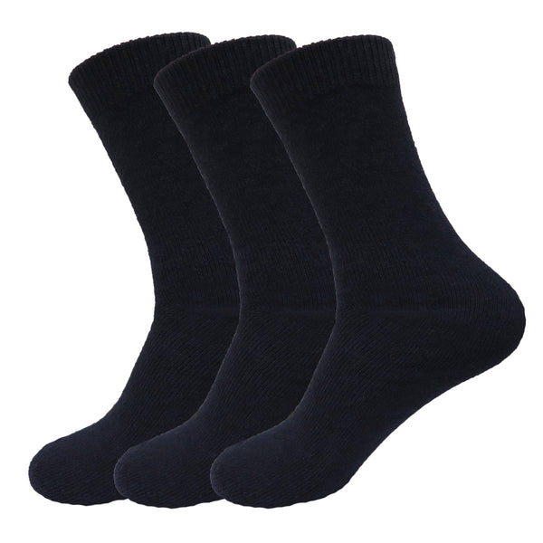 3 Pairs of Men's Super Warm Heavy Thermal Winter Casual Socks (Size 10-13)