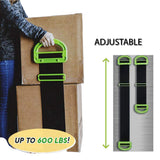 Clever Carry Adjustable Nylon Moving Lifting Carrying Box Strap Up To 500 Lbs