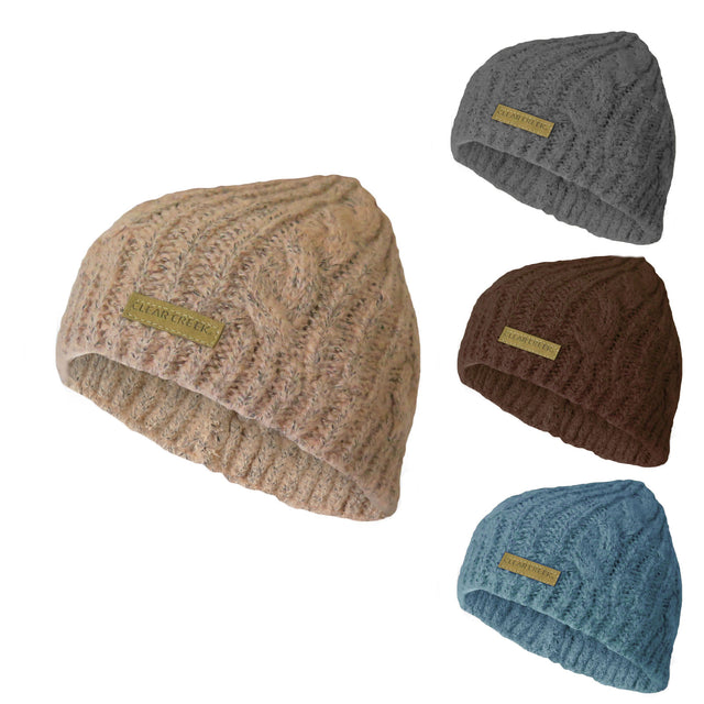 7dc314dd26c4d Brand New CC Beanie Women s Lifestyle Cap Hat Skully Unisex Slouch Color  Cable Knit Beanie