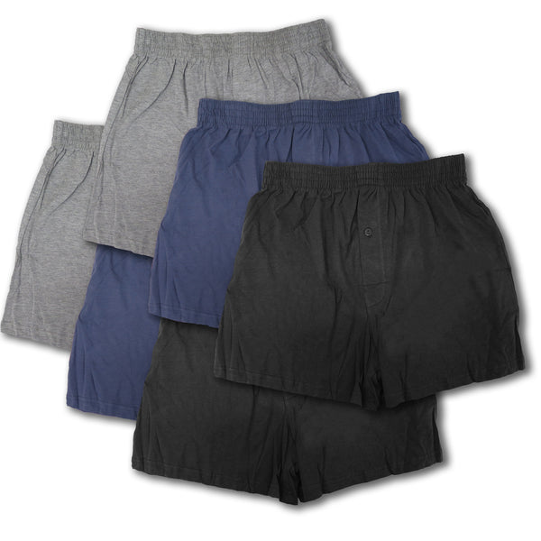 Men's Apparel Lifestyle Boxer Shorts Underwear With Stretch Waist & Breathable Cotton  (S-XL)