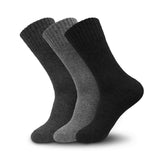 3 Pairs Men's & Women's Super Warm Heavy Thermal Lamb Wool Winter Socks