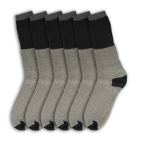 6 Pairs Mens Boot Socks Thick Work Warm Hiking Winter Crew Thermal Heavy Duty
