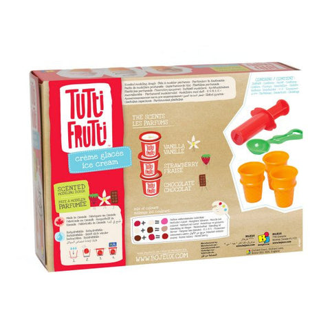 Tutti Frutti - Ice Cream Scented Modelling Dough Kit