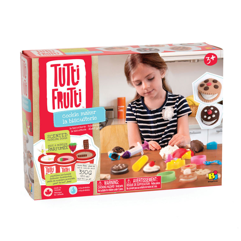 Tutti Frutti - Cookie Maker Scented Modelling Dough Kit