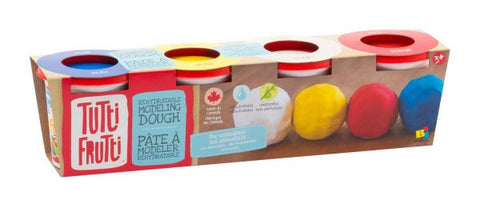 Tutti Frutti - 4 Packs Unscented Modelling Dough