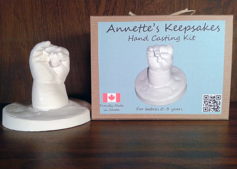 Annette's Keepsakes - Child Hand Casting Kit