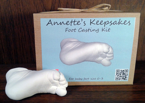 Baby Foot Casting Kit Yutopia