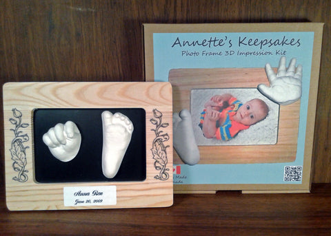 Annette's Keepsakes - Photo Frame 3D Impression Kit
