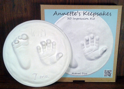 "Annette's Keepsakes - 8"" 3D Impression Kit"